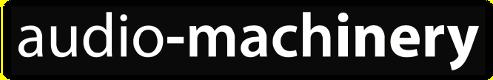 audio-machinery logo text